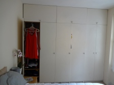 Awesome FULL wall of a built in wardrobe
