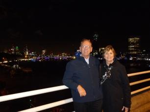 Walk across the Waterloo Bridge after the show