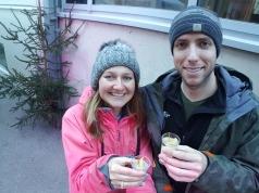 Apres Ski pear schnapps!