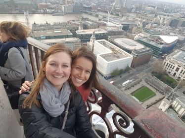View from the top of St. Pauls