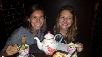 Fun cocktail club - liquid nitrogen drinks in a teapot!