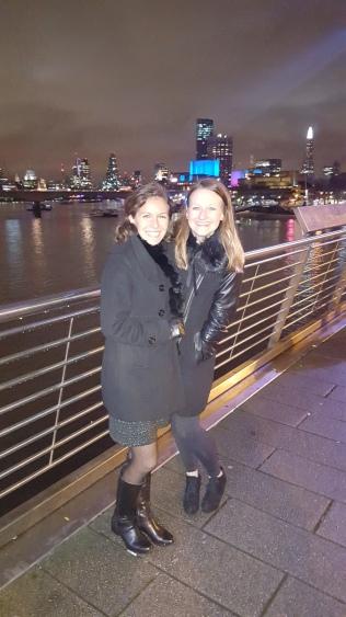 last night on the Thames