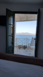 Our private balcony - look at that view!