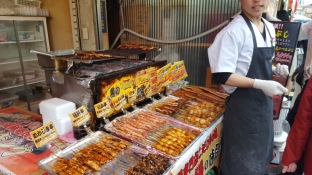 SO much street food!