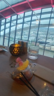 Tea cocktail @ The Sky Garden
