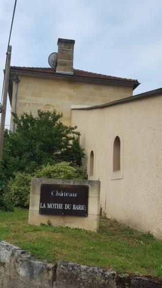 Chateau la Mothe du Barry