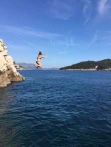 Cliff Jumping!