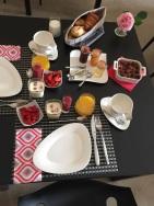 Chateau la Mothe du Barry-incredible breakfast!