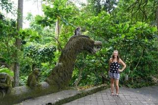 Sacred Monkey Forest