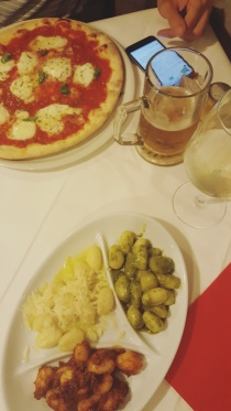 gnocchi + pizza