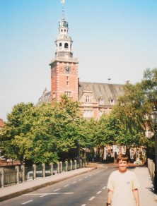 Dan in Leer, Germany 2000